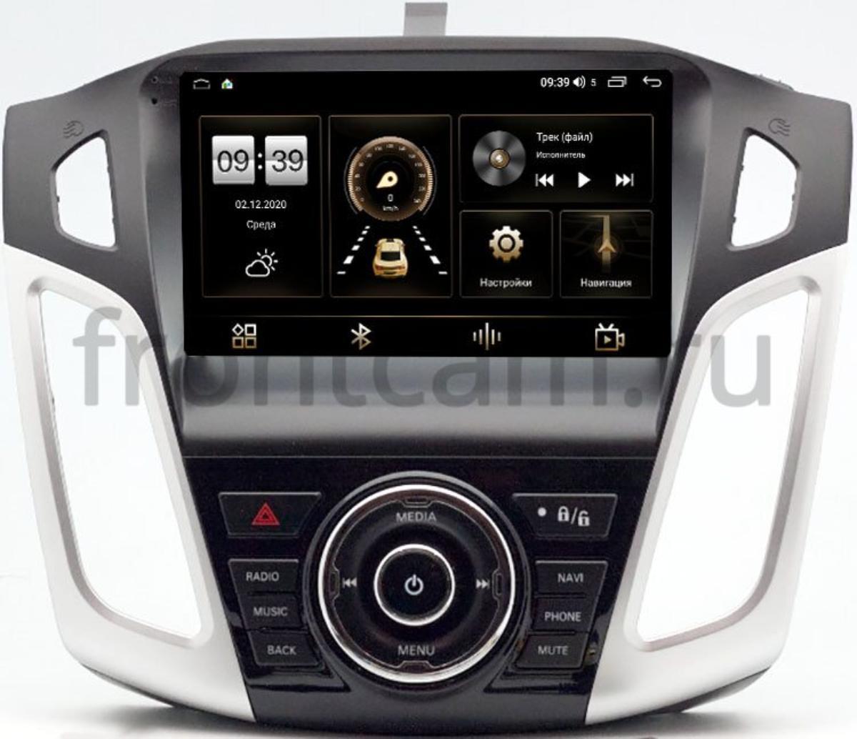 Штатная магнитола Ford Focus III 2011-2018 (тип 2) LeTrun 4166-9-815 на Android 10 (4G-SIM, 3/32, DSP, QLed) (+ Камера заднего вида в подарок!)