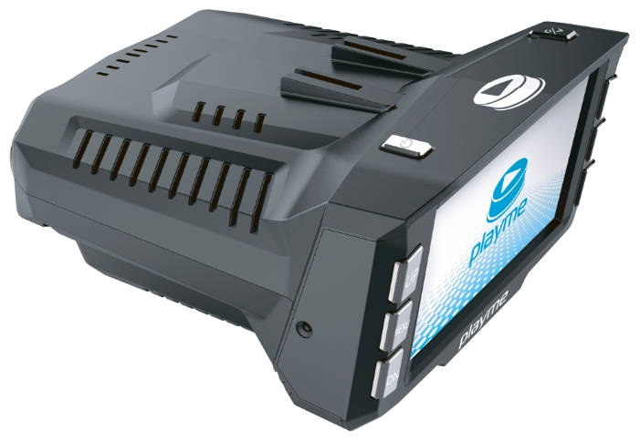 Видеорегистратор с радар-детектором Playme P200 TETRA (+ Разветвитель в подарок!)