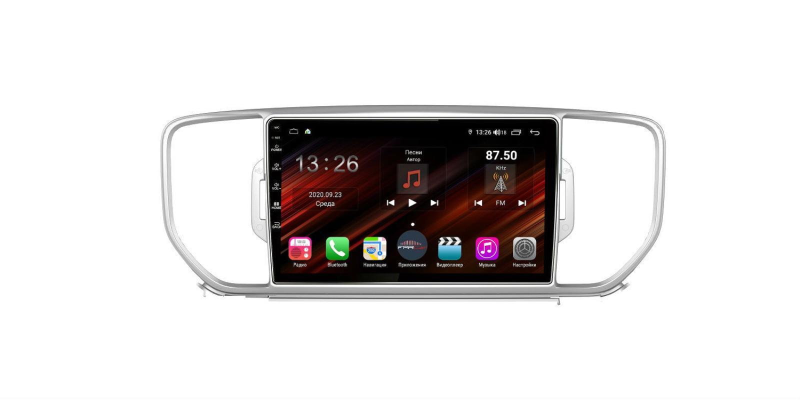 Штатная магнитола FarCar s400 Super HD для KIA Sportage на Android (XH576R) (+ Камера заднего вида в подарок!)