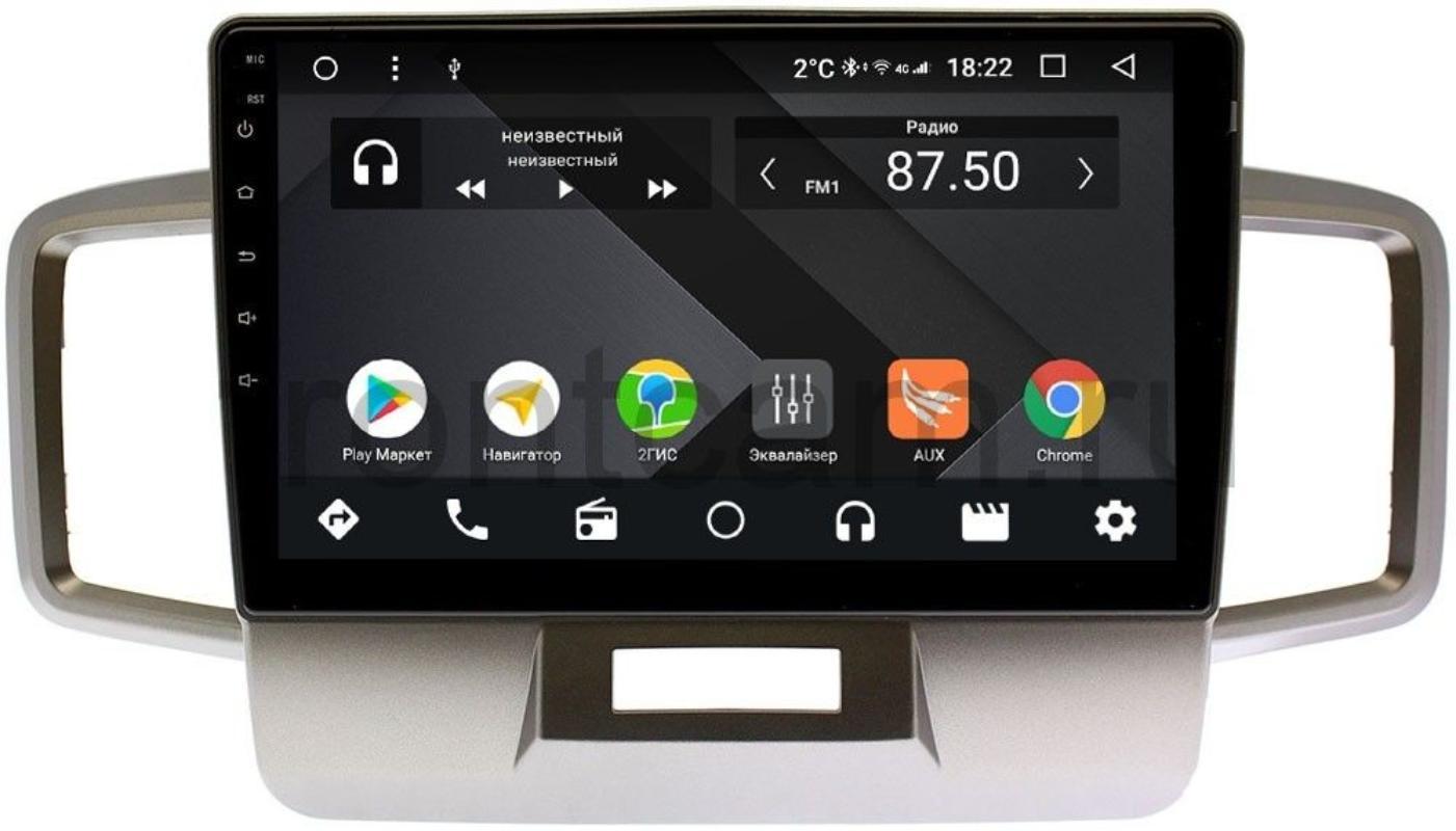 Штатная магнитола Wide Media CF10-1106PM-4/64 для Honda Freed 2008-2016 на Android 9.1 (TS9, DSP, 4G SIM, 4/64GB) (+ Камера заднего вида в подарок!)