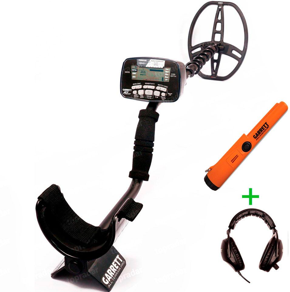 Металлоискатель Garrett AT Pro + Pro-Pointer AT (+ Пинпоинтер Garrett в подарок!) цены онлайн