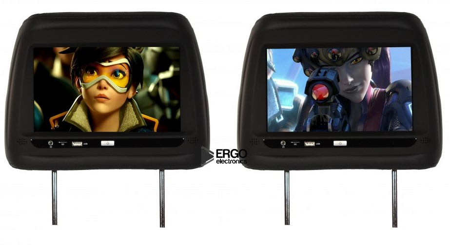 Автомобильный монитор Ergo ER10AND (+ Беспроводные наушники в подарок!)