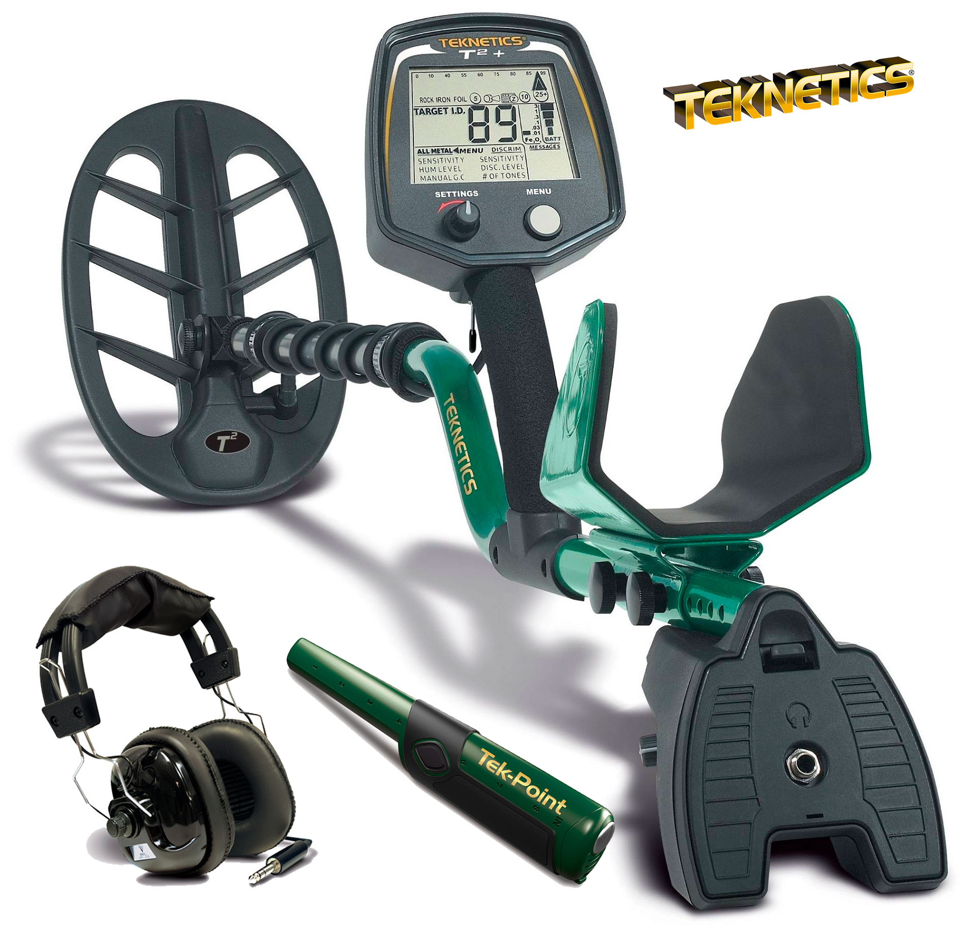 Металлоискатель Teknetics T2+ (+ TekPoint + Headphones) (+ Совок поисковый в подарок!) картридж t2 cb324he 178xl ic h324