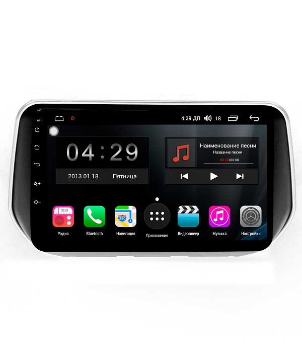 Штатная магнитола FarCar S300 4G для Hyundai Santa Fe на Android (RG1124R) (+ Камера заднего вида в подарок!)
