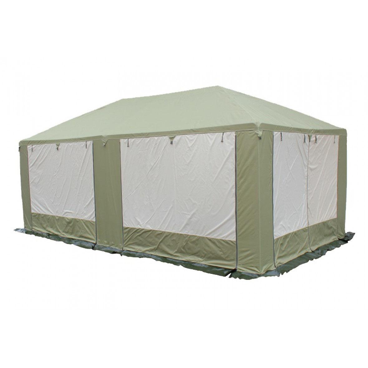 Шатер Митек Пикник 5.0х2.5 (каркас Люкс) зеленый