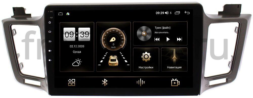 Штатная магнитола Toyota RAV4 (CA40) 2013-2019 LeTrun 4195-1002 (для авто с одной камерой) на Android 10 (6/128, DSP, QLed) С оптическим выходом (+ Камера заднего вида в подарок!)
