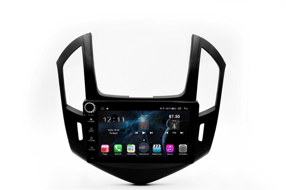 Штатная магнитола FarCar s400 для Chevrolet Cruze на Android (H261RB) (+ Камера заднего вида в подарок!)