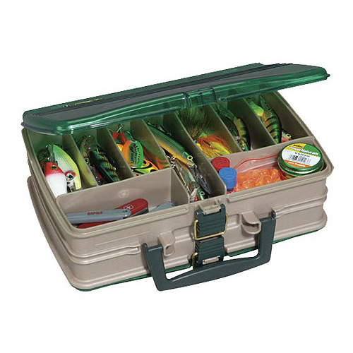 Ящик PLANO 1120-00 2х стороний с прозрачными крышками, 20 отсеков цена и фото
