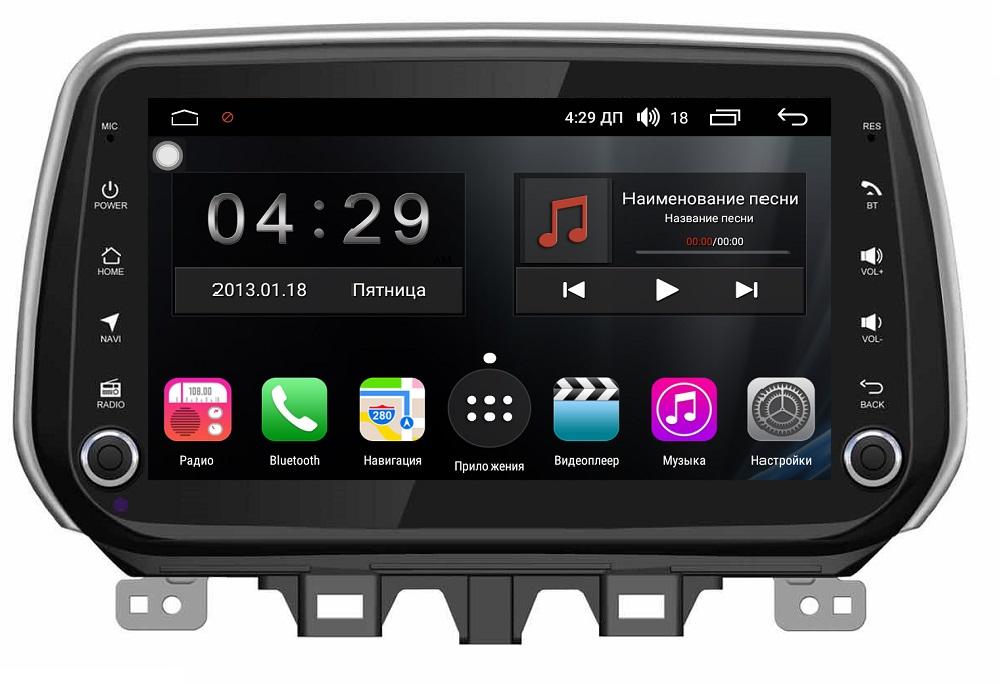 Штатная магнитола FarCar s300-SIM 4G для Hyundai TUCSON/IX35 2018+ на Android (RG1135) (+ Камера заднего вида в подарок!)