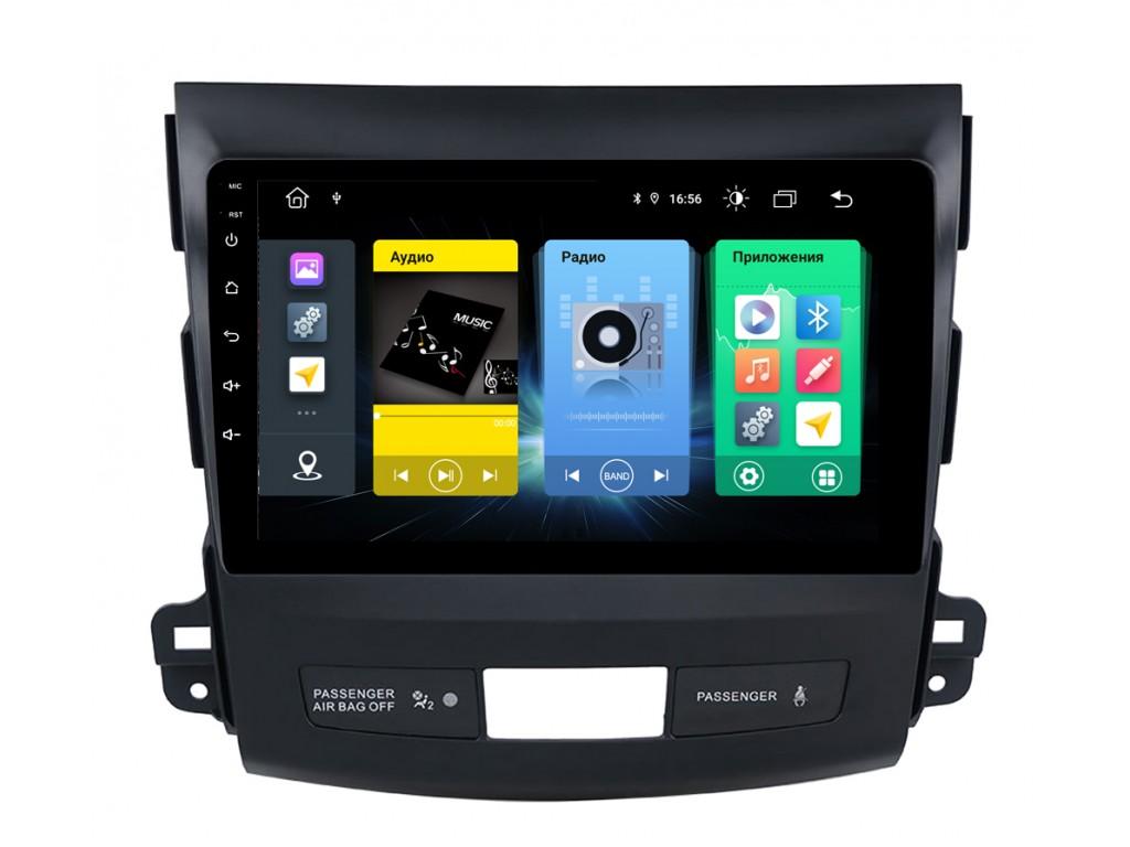 Головное устройство vomi FX385R9-MTK-LTE для Mitsubishi Outlander XL 2006-2012 (+ Камера заднего вида в подарок!)