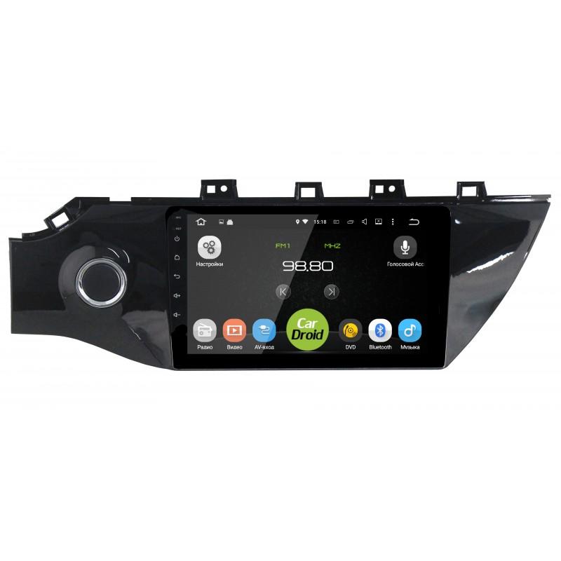 Штатная магнитола Roximo CarDroid RD-2312F для Kia Rio IV 2017-2018 (Android 8.0) (+ Камера заднего вида в подарок!)