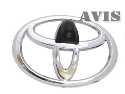 CCD штатная камера переднего вида AVIS AVS324CPR для TOYOTA (#117) (BIG) универсальная камера переднего вида avis avs311cpr 180 front multiview