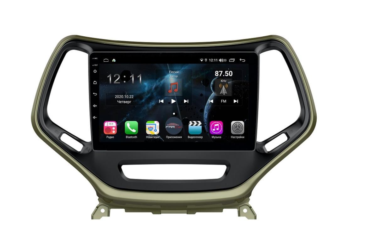 Штатная магнитола FarCar s400 для Jeep Cherokee на Android (H608R) (+ Камера заднего вида в подарок!)