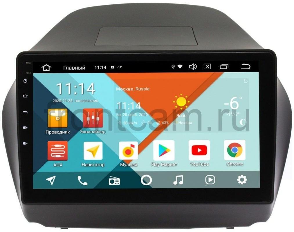 Штатная магнитола Wide Media KS1042QM-2/32 DSP CarPlay 4G-SIM для Hyundai ix35 2010-2015 на Android 10 (для авто с камерой) (+ Камера заднего вида в подарок!)