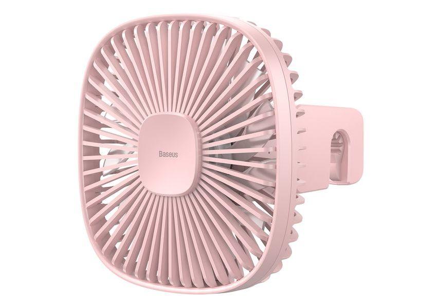 Магнитный вентилятор заднего для сиденья Baseus Natural Wind Magnetic Rear Seat Fan Pink
