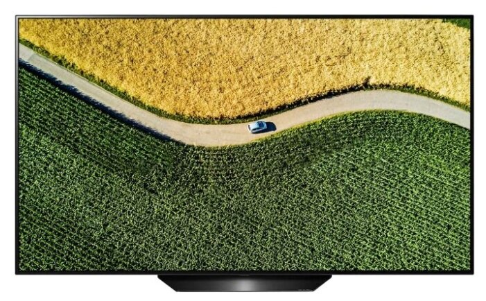 Телевизор OLED LG 65 OLED65B9PLA черный/серебристый/Ultra HD/50Hz/DVB-T2/DVB-C/DVB-S2/USB/WiFi/Smart TV (RUS)