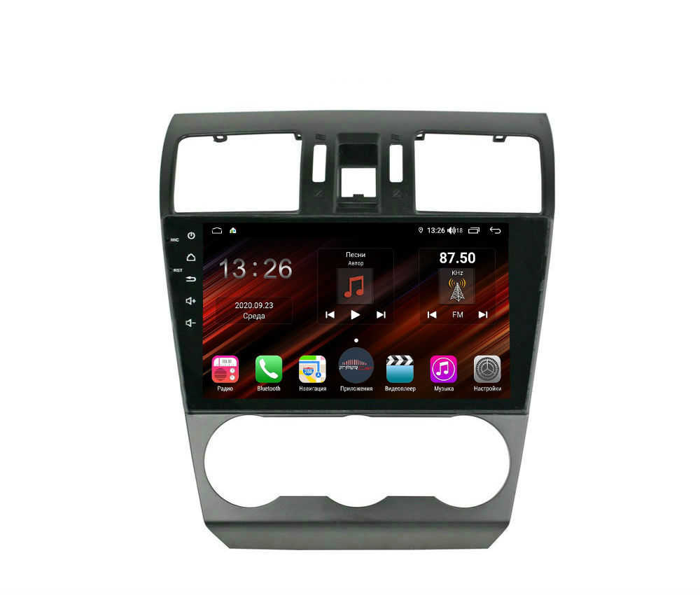 Штатная магнитола FarCar s400 Super HD для Subaru Forester,XV 2013-2015 на Android (XH901/775R) (+ Камера заднего вида в подарок!)