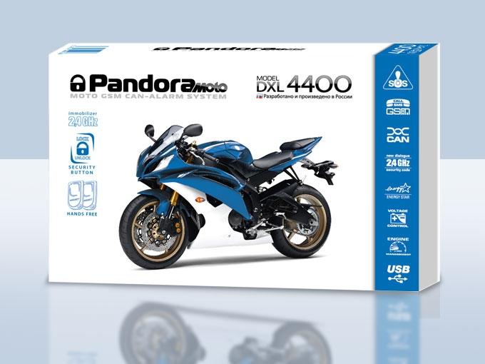 Мотосигнализация Pandora DXL 4400 Moto CAN+GSM casio g shock g classic ga 100cb 1a