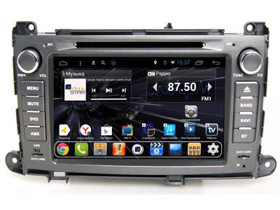 Штатная магнитола DayStar DS-8005HD Toyota Sienna (2010-2015) ANDROID 8.1.0 (8 ядер, 2Gb ОЗУ, 32Gb памяти) + 3G модем (+ камера заднего вида и 3G модем) штатная магнитола daystar ds 7067hd hyundai elantra 2013 android 8 1 0 8 ядер 2gb озу 32gb памяти