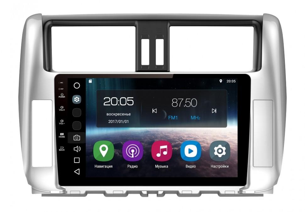 Штатная магнитола FarCar s200 для oyota Land Cruiser Prado 150 (2009-2013) на Android (V065R-DSP)
