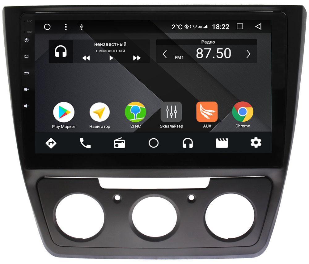 Штатная магнитола Skoda Yeti I 2009-2017 Wide Media CF1023-OM-4/64 на Android 9.1 (TS9, DSP, 4G SIM, 4/64GB) (+ Камера заднего вида в подарок!)