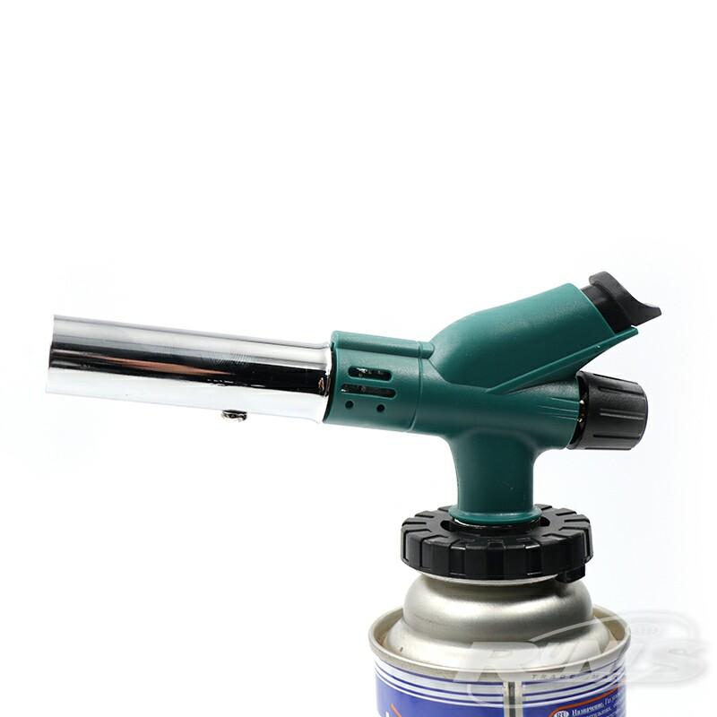 Газовая горелка RUNIS Premium P02, пьезо. (цанг.)/80/ (+ Антисептик-спрей для рук в подарок!)