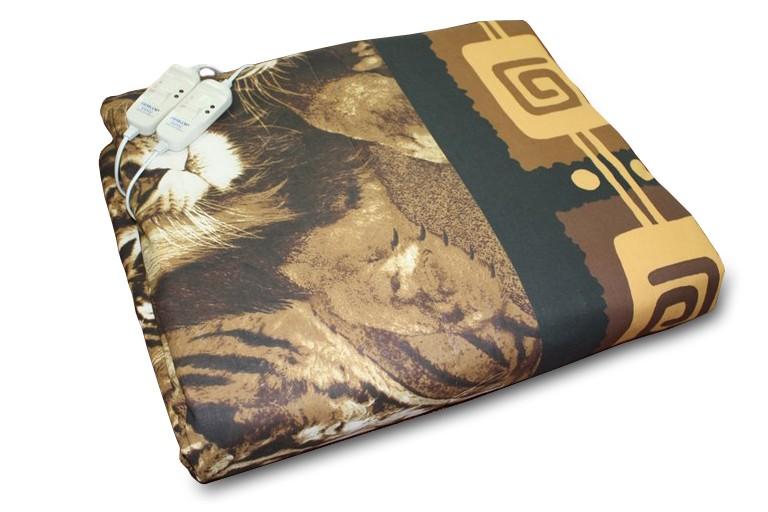 Грелка электрическая ИНКОР 78017 одеяло двуспальное(180 х190 см), 120Вт., 55 град., режимы 3+3