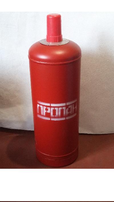 Баллон газовый стальной с вентилем балонным Крым, 50 л (+ Антисептик-спрей для рук в подарок!)