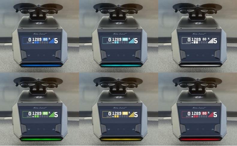 OLED ДИСПЛЕЙ 6 ЦВЕТОВ Neoline X-COP 8700S