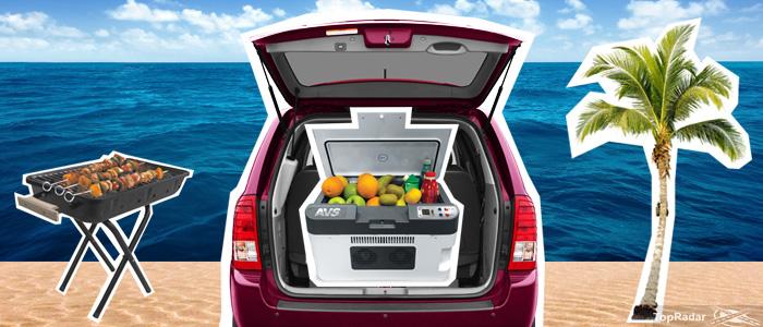 Автомобильный холодильник от прикуривателя и 220 В