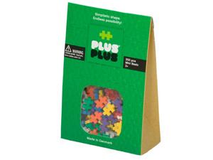 Развивающий конструктор Plus-Plus Mini 300 Basic, 300 деталей, 10 базовых цветов