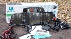 Видеорегистратор с радаром в зеркале Playme VEGA TOUCH