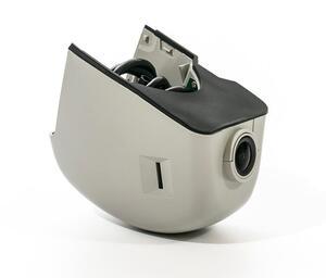 Штатный двухканальный автомобильный Ultra HD (1296P) видеорегистратор с GPS AVS400DVR (#108) для AUDI/ SKODA (серый)
