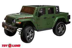 Детский автомобиль Toyland Jeep Rubicon 6768R Хаки