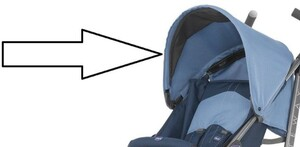 Капюшон для коляски Chicco Lite Way Top New Blue