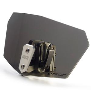 Спойлер на ветровое стекло универсальный тонированный Givi Black (S180F)