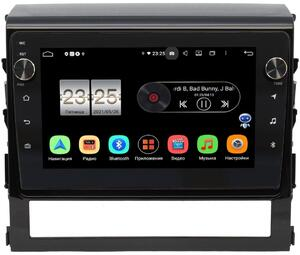 Штатная магнитола Toyota Land Cruiser 200 2015-2021 LeTrun BPX609-9047 на Android 10 (4/64, DSP, IPS, с голосовым ассистентом, с крутилками)