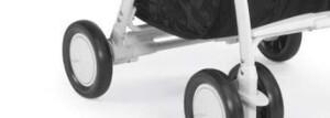 База задних колес с тормозом для Chicco Simplicity, белый