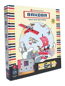 Мягкий конструктор BAKOBA Вертолет, 25 деталей