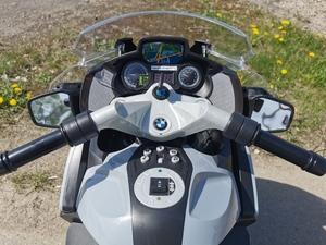 Детский мотоцикл Toyland Moto BMW 213 Серый