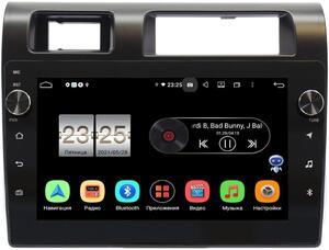 Штатная магнитола LeTrun BPX609-9286 для Toyota Land Cruiser 70 2007-2021 на Android 10 (4/64, DSP, IPS, с голосовым ассистентом, с крутилками)