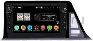 Штатная магнитола Toyota C-HR I 2016-2021 (левый руль)  LeTrun BPX409-9240 на Android 10 (4/32, DSP, IPS, с голосовым ассистентом, с крутилками)