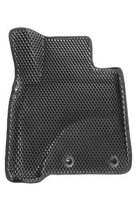 Коврики EVA 3D ромб Seintex для Toyota Land Cruiser 200 2012-н.в. (черные, 95231)