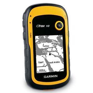 Навигатор для грибника Garmin etrex 10