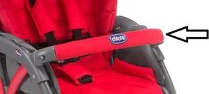 Бампер для коляски Chicco SimpliCity New Red