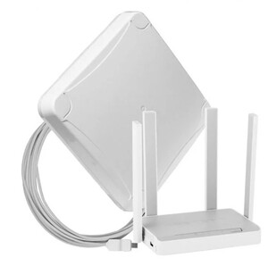 Комплект для мобильного интернета WiFi 3G/4G DS-Link DS-4G-16M L-4 (Антенна MIMO 16дБ, USB кабель 10м, роутер Wi-Fi 2.4ГГц, 5ГГц)