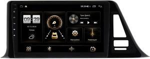 Штатная магнитола Toyota C-HR I 2016-2021 (левый руль) (для комплектации с магнитолой 100x200mm) LeTrun 4166-9124 на Android 10 (4G-SIM, 3/32, DSP, QLed)