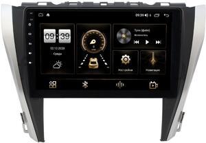 Штатная магнитола LeTrun 4165-1045 для Toyota Camry V55 2014-2018 (для авто без камеры) на Android 10 (4G-SIM, 3/32, DSP, QLed)