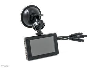 Трёхканальный Full HD видеорегистратор с GPS для фургона / автобуса / грузовика Avel AVS0310DVR