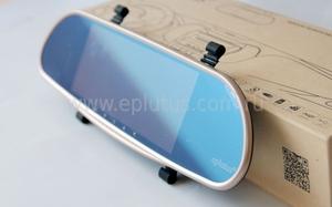 Eplutus D68 зеркало заднего вида на Android с камерой заднего вида и GPS